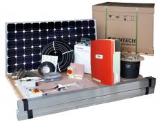 Сетевые солнечные установки