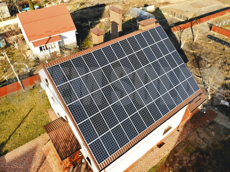 СЕС 15 кВт під зелений тариф в Процеві, Київська область