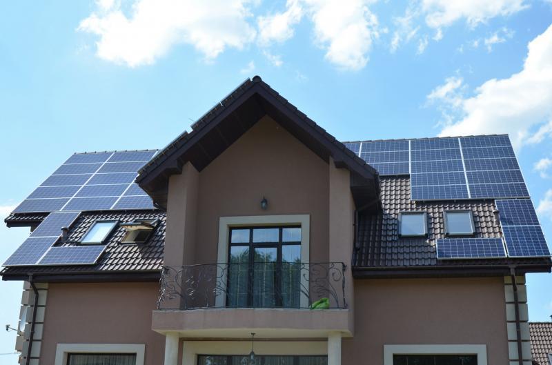 Мережева сонячна електростанція 10 кВт в  с. Білогородка, Київська область