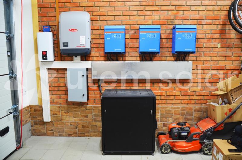 3-х фазная система резервного электропитания Victron Energy 12 кВт, с. Гатное Киевская область