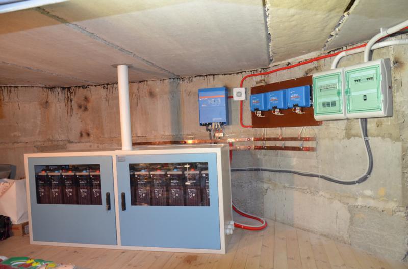 Гибридная система питания Victron Energy/Kyocera 5 кВА в пгт. Козин