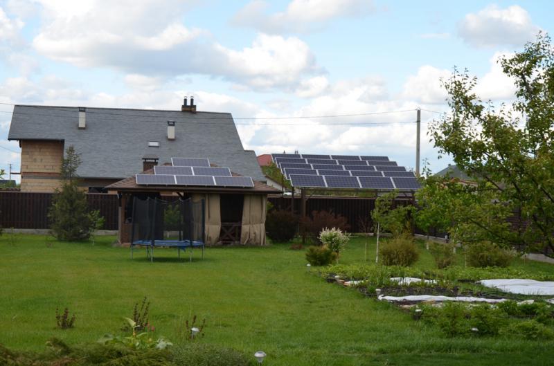 Мережева сонячна електростанція 5 кВт, Бориспільський район, Київська область