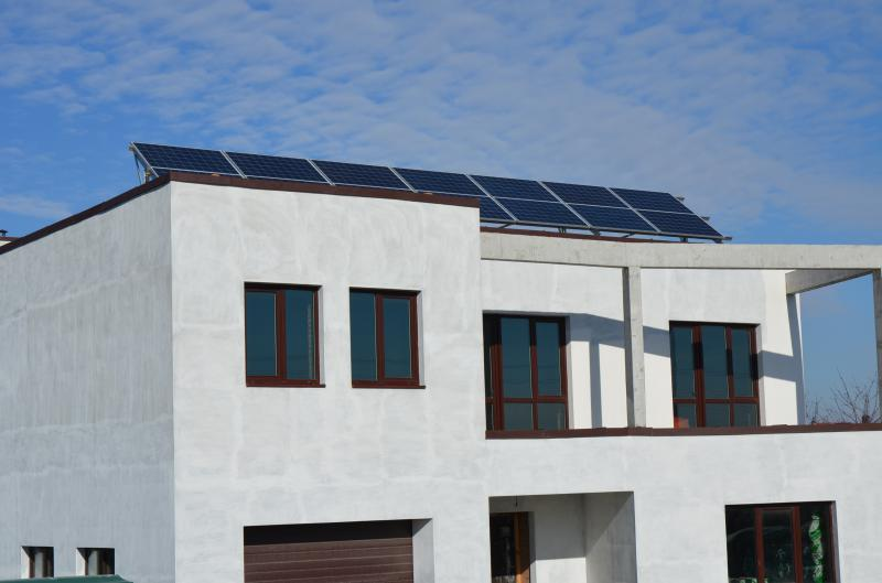 Мережева сонячна електростанція Fronius-LDK потужністю 5 кВт. Бориспільський р-н, Велика Олександрівка (1-а черга)