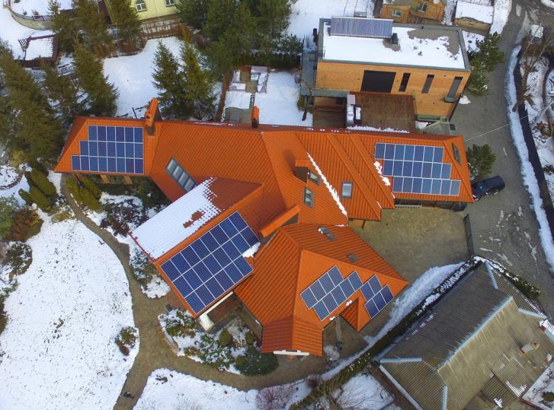 Сетевая солнечная электростанция 20 кВт, Киевская область, г. Белая Церковь
