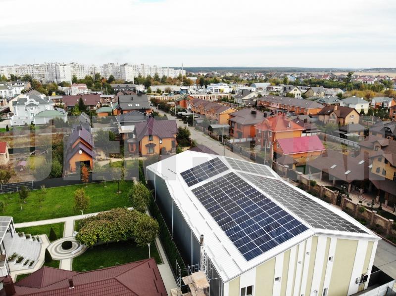 Солнечная электростанция мощностью 47 кВт в г. Белая Церковь