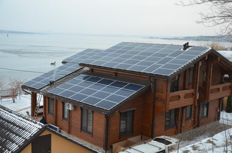 Солнечная электростанция ReneSola-Fronius 25 кВт в г. Николаев