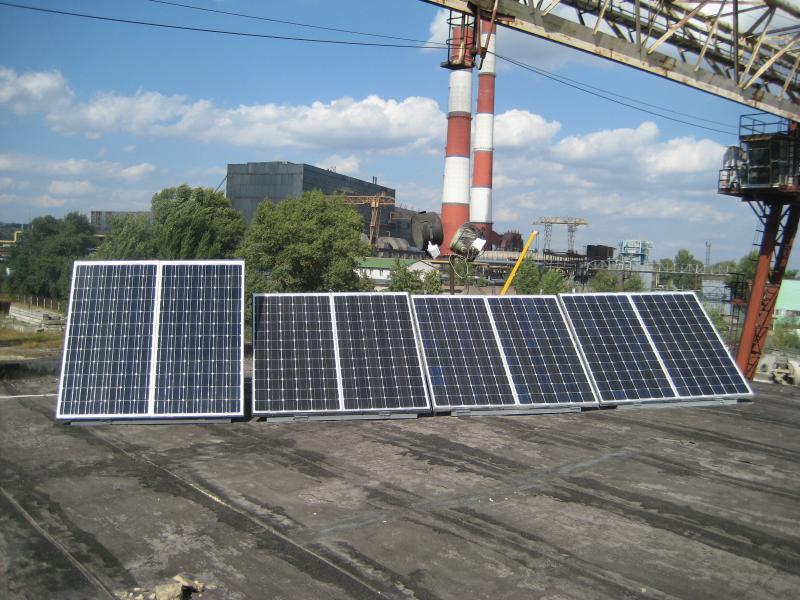 Гібридна фотоелектрична система 1,5 кВт, Київ