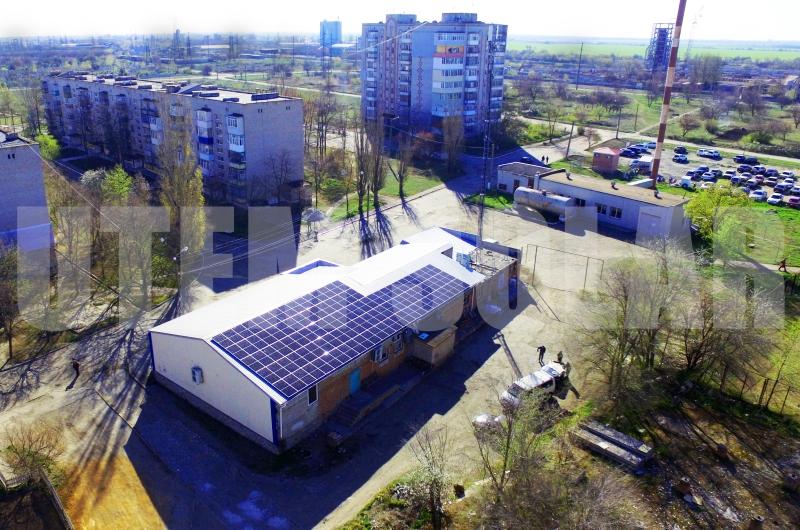 Сонячна станція для юридичної особи з метою економії електроенергії в продуктовому магазині (Токмак, Запорізька область)