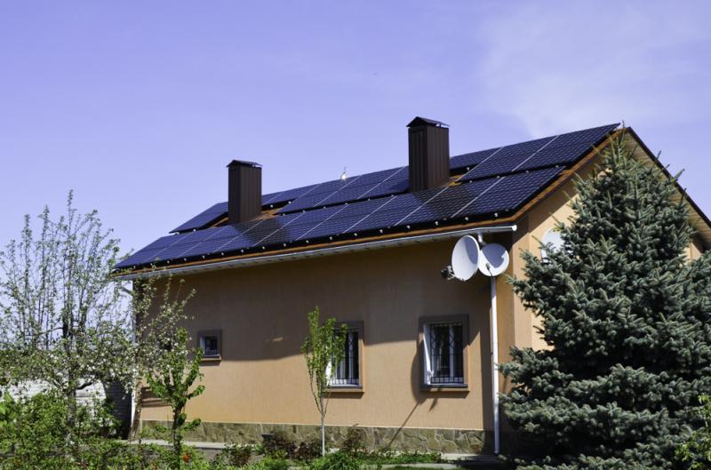 Солнечная электростанция 10 кВт для продажи по Зеленому Тарифу в г. Черкассы