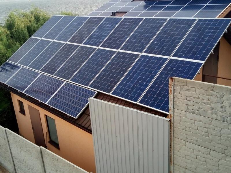 Солнечная электростанция 25 кВт с оформлением Зеленого Тарифа Николаев 2-я очередь