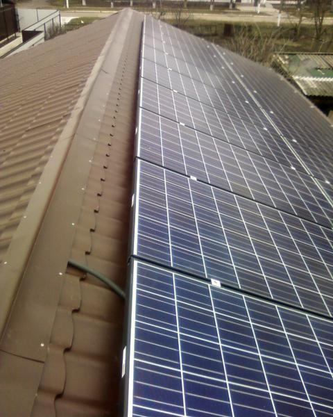 Сетевая солнечная установка Kyocera-Fronius мощностью 5 кВт - Днепродзержинск