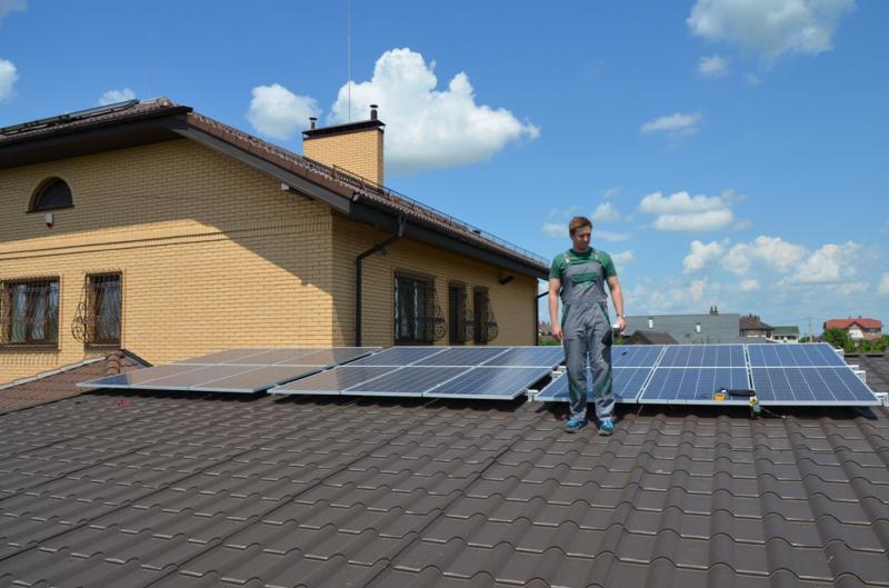 Солнечная электростанция мощностью до 20 кВт - Большая Александровка, 1-я очередь