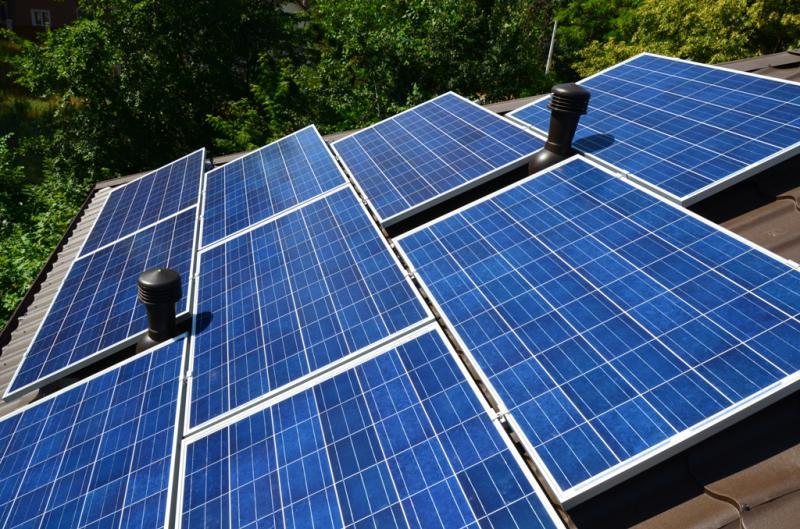 Сетевая солнечная установка 10 кВт в г. Буча, Киевская область, 1-я очередь