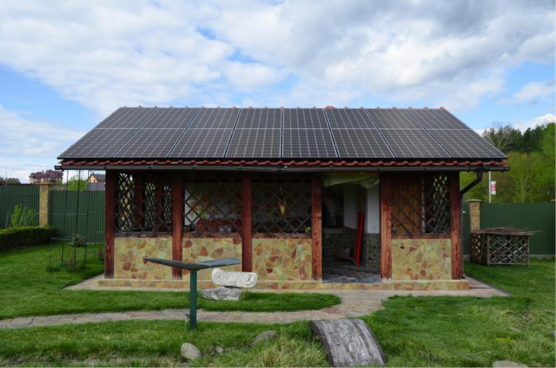 Солнечная электростанция 15 кВт, с.Ходосовка, Киевская область