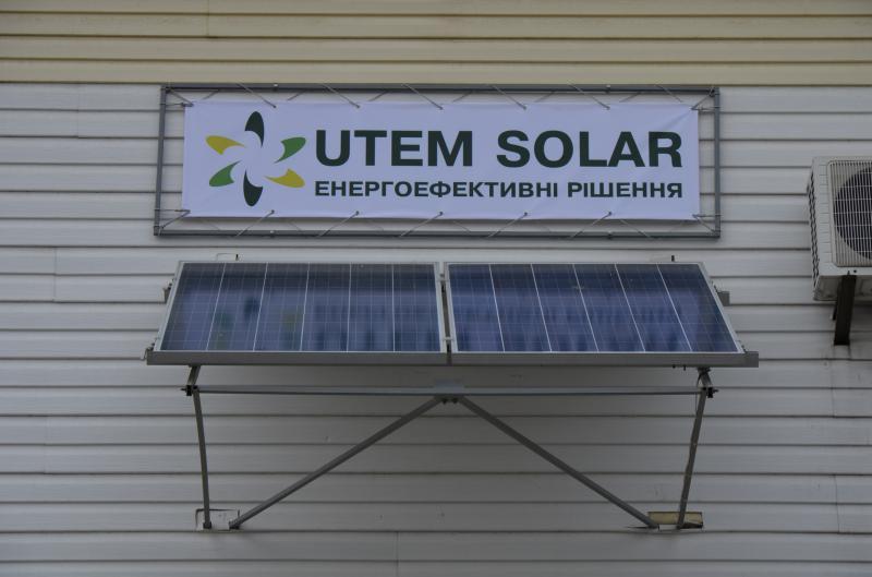 Микроинверторная сетевая установка для тестирования производительности солнечных батарей.