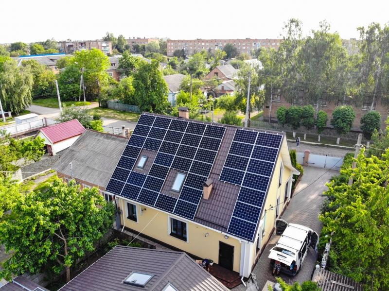 Солнечная электростанция мощностью 20 кВт в г. Ватутино, Черкасская область