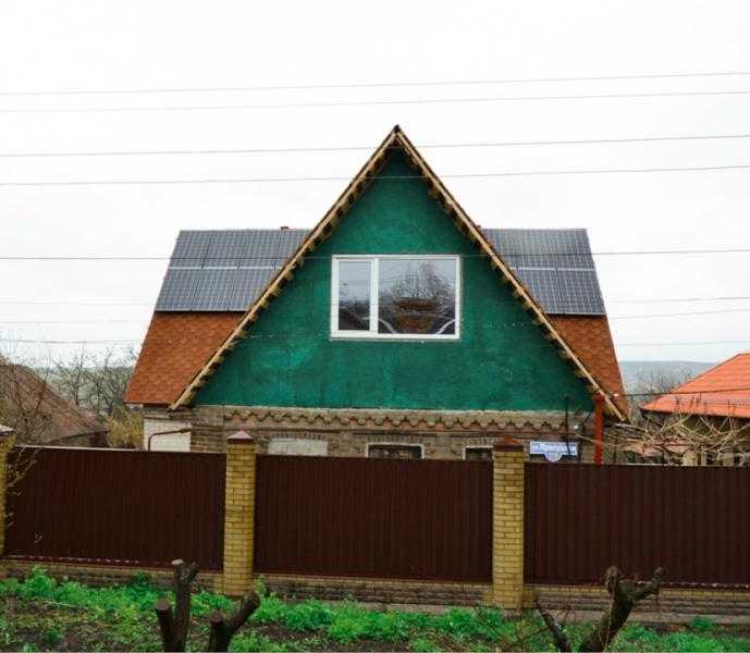 Солнечная электростанция 15 кВт в г. Краматорск, Донецкая область, 1-я очередь
