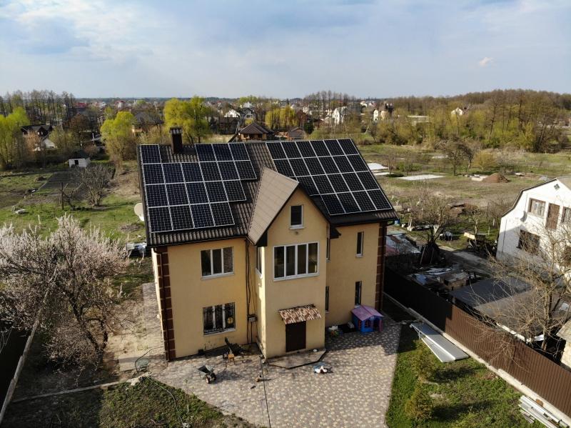 Солнечная электростанция 30 кВт под Зеленый тариф в с. Зазимье