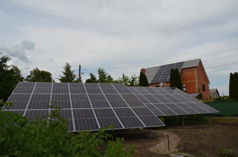 Солнечная электростанция мощностью 30 кВт c cолнечными панелями Canadian 400W под зеленый тариф в г. Славянск, Донецкая область