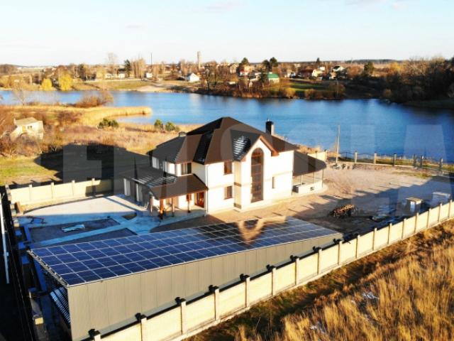 Сонячна станція 30 кВт під зелений тариф в смт. Немішаєве Київської області