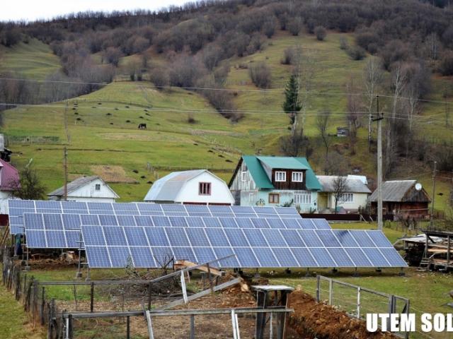 Сонячна електростанція 30 кВт на наземній конструкції в с. Колочава на Закарпатті