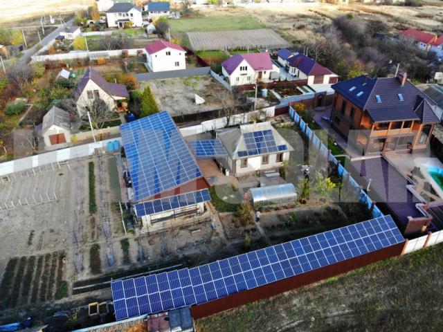 Солнечная станция под зеленый тариф в Бориспольском районе