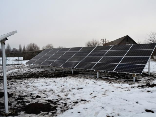 Солнечная электростанция 30 кВт Донецкая область, Константиновский район