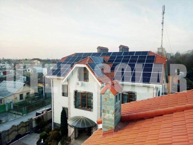 Сонячна електростанція потужністю 20 кВт під зелений тариф в місті Одеса