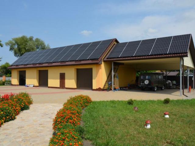 Солнечная электростанция 30 кВт по Зеленому тарифу Черниговская область