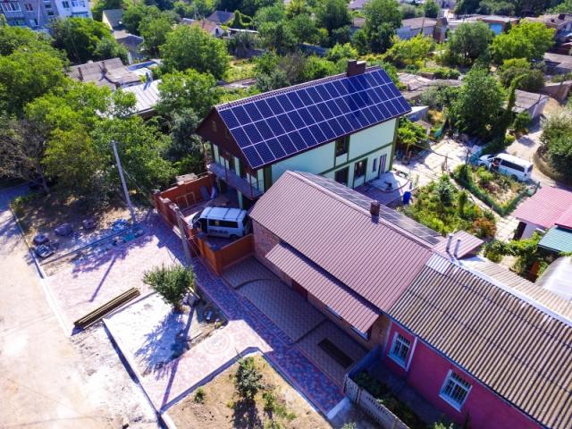 Сонячна електростанція потужністю 30 кВт під зелений тариф в Очакові, Миколаївська область