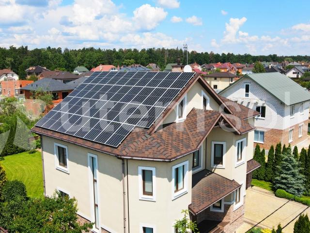 Мережева сонячна станція 15 кВт під зелений тариф у м. Бровари, Київська область