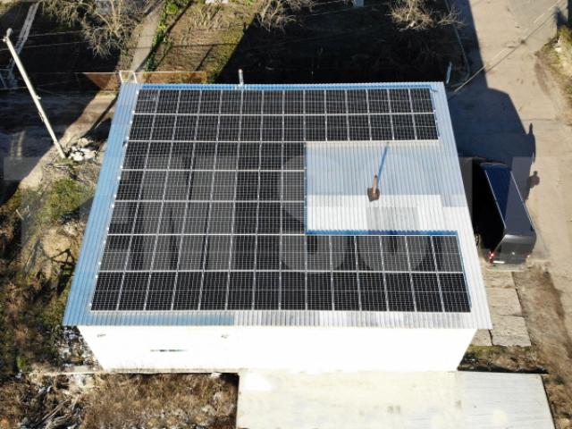 Солнечная станция для юридического лица с целью экономии электроэнергии на предприятии в Ворзеле Киевской области
