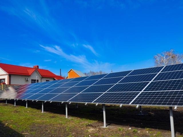 Сонячна електростанція 30 кВт під Зелений тариф в м.Слов'янськ, Донецька область