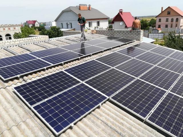 Солнечная электростанция 20 кВт в г. Очаков, Николаевская область
