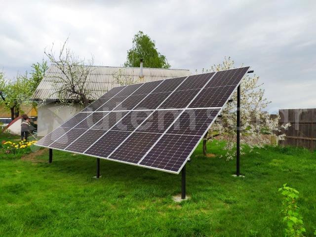 Сетевая солнечная станция 5 кВт в с. Дешки, Черниговская область