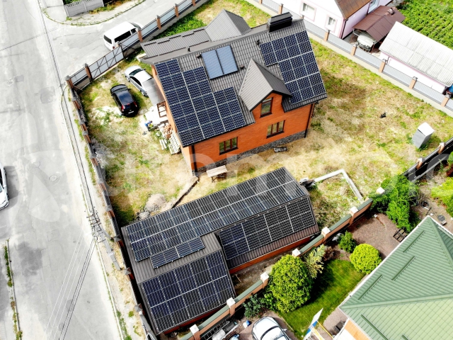 Мережева сонячна станція 20 кВт під зелений тариф у м. Біла Церква, Київська область