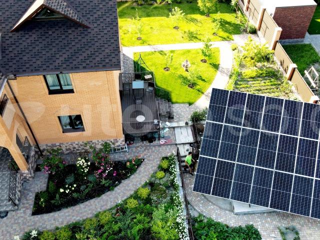 Мережева сонячна станція 10 кВт у м. Ірпінь, Київська область