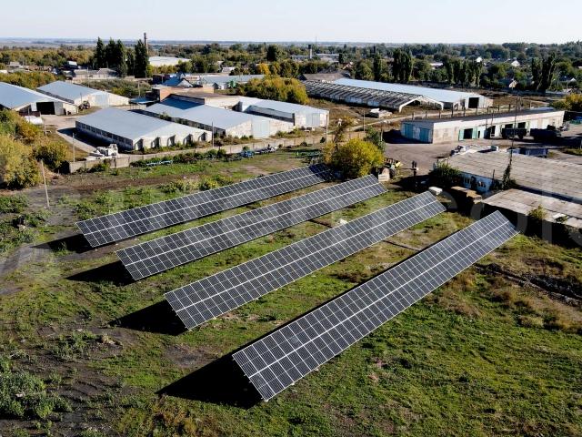 Сонячна станція 150 кВт для сільськогосподарського підприємства, Харківська область