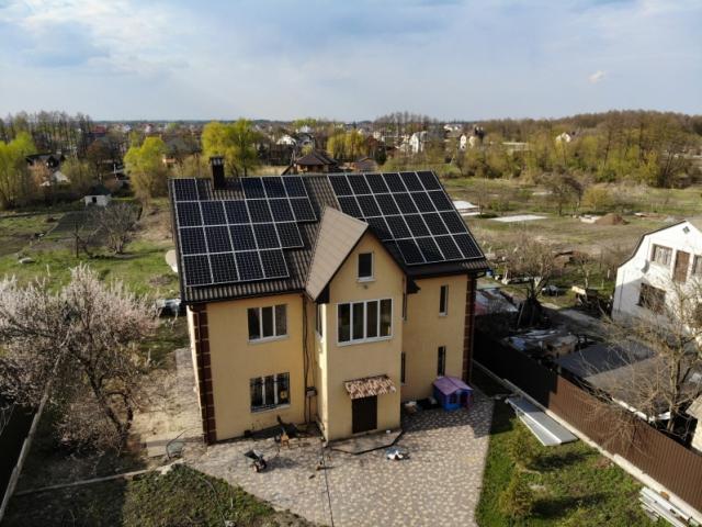 Сонячна електростанція 30 кВт під Зелений тариф в с. Зазим'я