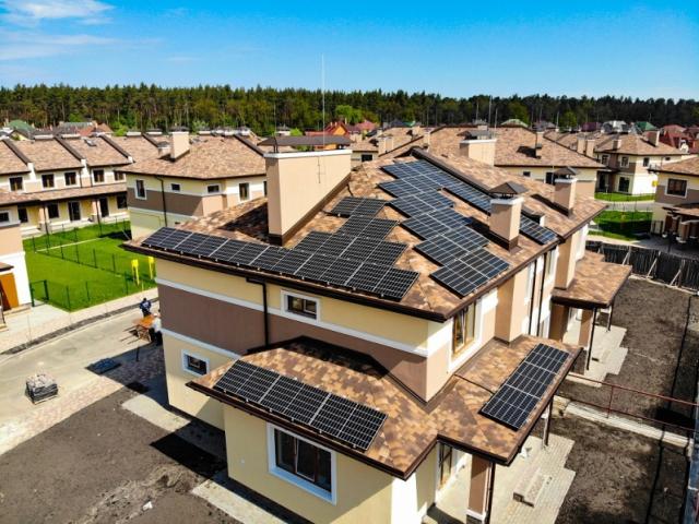 Солнечные электростанции для собственного потребления мощностью 8 кВт в Броварах