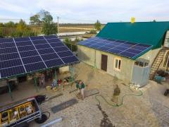 Солнечная электростанция мощностью 30 кВт под зеленый тариф в г. Днепр