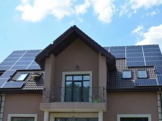 Сетевая солнечная электростанция 10 кВт в Белогородке, Киевская область