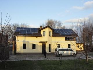Сонячна установка для Зеленого тарифу 7 кВт, Вишгородський р-н, (2 черга)