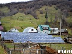 Солнечная электростанция 30 кВт на наземной конструкции в с. Колочава на Закарпатье