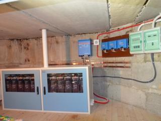 Гібридна система живлення Victron Energy / Kyocera 5 кВА в смт. Козин