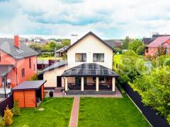 Солнечная станция 13,94 кВт под зеленый тариф в с. Гатное Киевской области