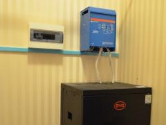 Однофазная система бесперебойного питания Victron Energy + BYD B-Box 2.5
