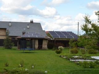 Сетевая солнечная электростанция 5 кВт, Бориспольский район, Киевская область,Большая Александровка,