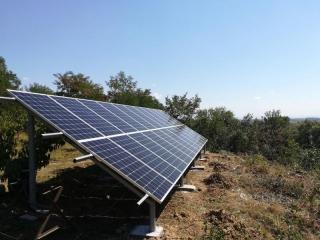 Наземная солнечная электростанция 27 кВт в г. Берегово, Закарпатская область