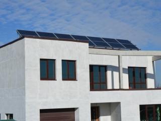 Сетевая солнечная электростанция Fronius-LDK мощностью 5 кВт. Бориспольский р-н, Большая Александровка (1-я очередь)